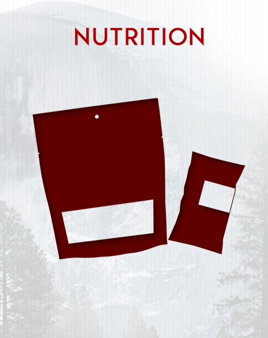 Food and Nutrition Selection on BlackOvis.com