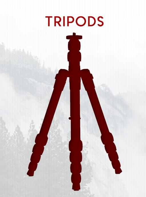 Tripods Selection on BlackOvis.com